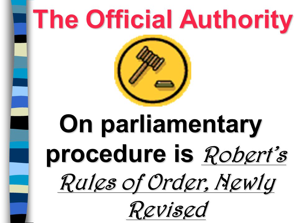 The Official Authority