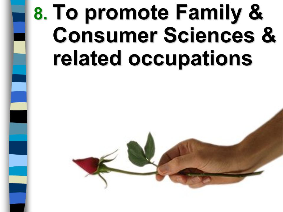 To promote Family & Consumer Sciences & related occupations