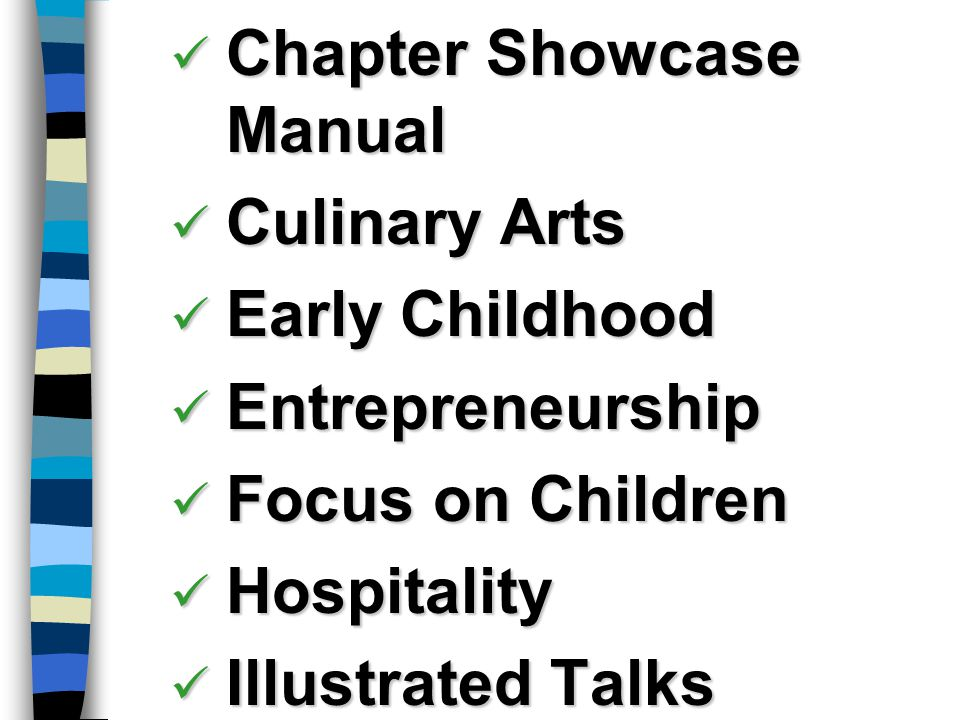 Chapter Showcase Manual