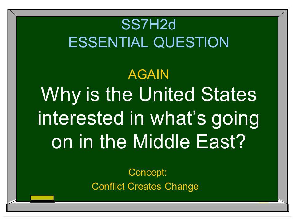 Concept: Conflict Creates Change