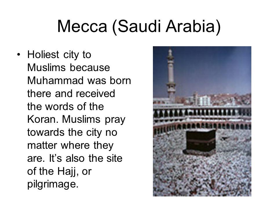 Mecca (Saudi Arabia)