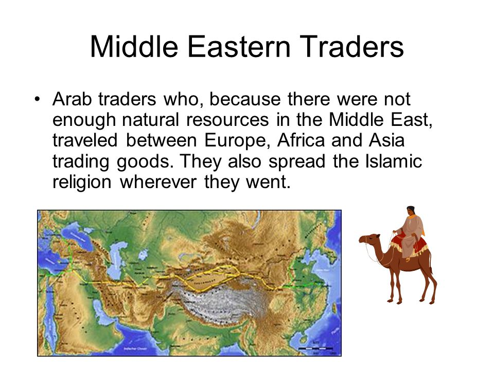 Middle Eastern Traders