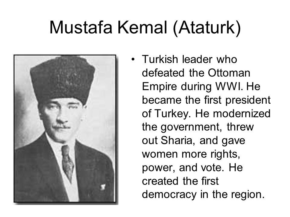 Mustafa Kemal (Ataturk)