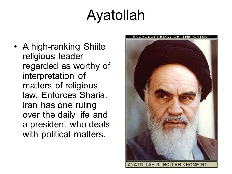 Ayatollah