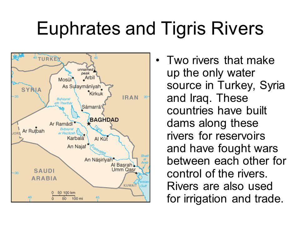 Euphrates and Tigris Rivers