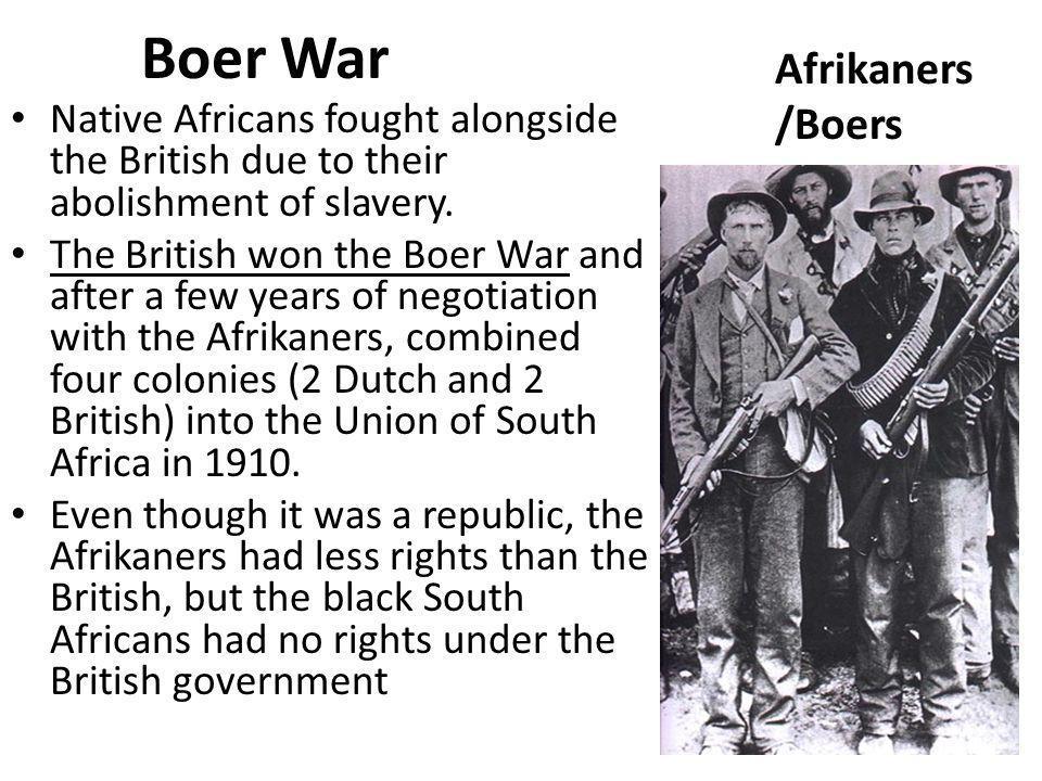 Boer War Afrikaners /Boers