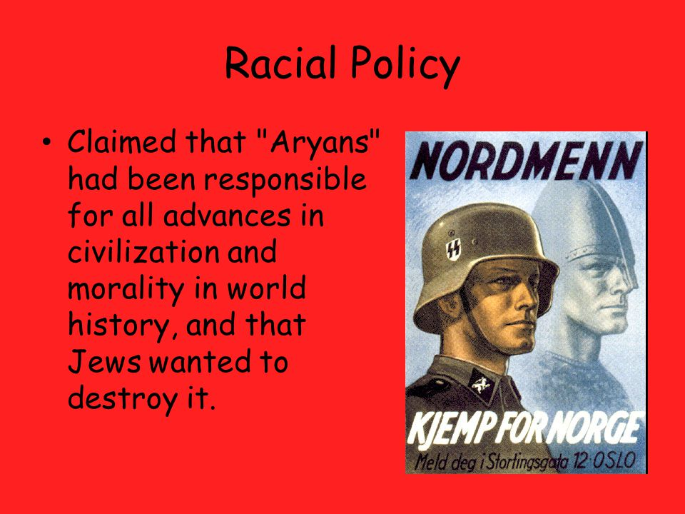 Racial Policy