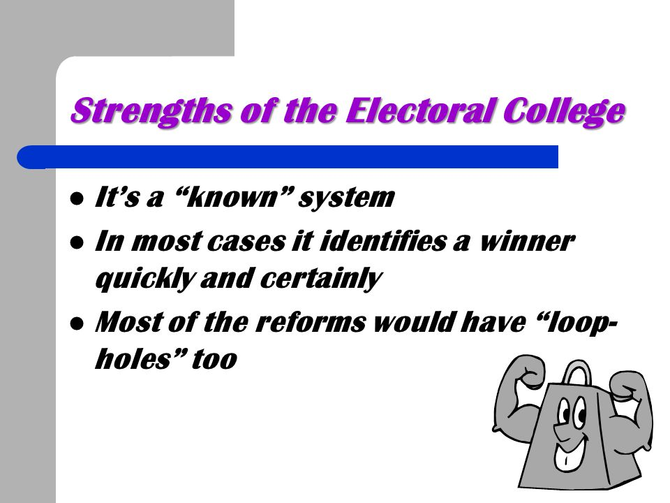 Strengths of the Electoral College