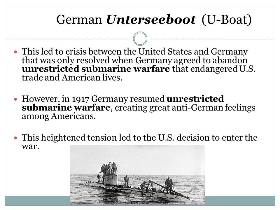German Unterseeboot (U-Boat)