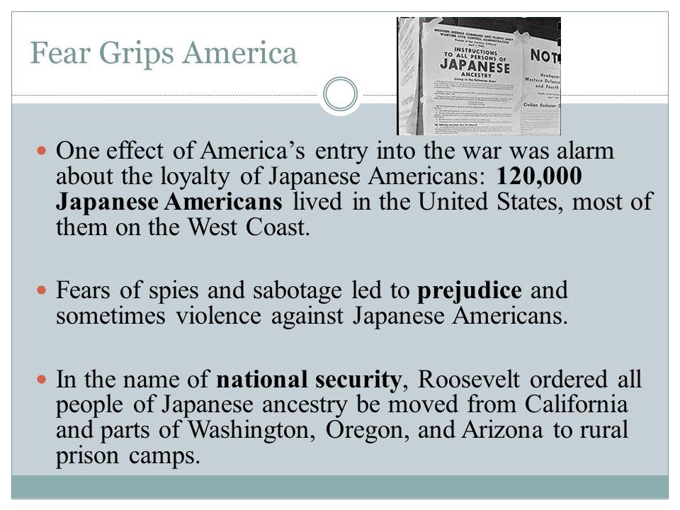 Fear Grips America