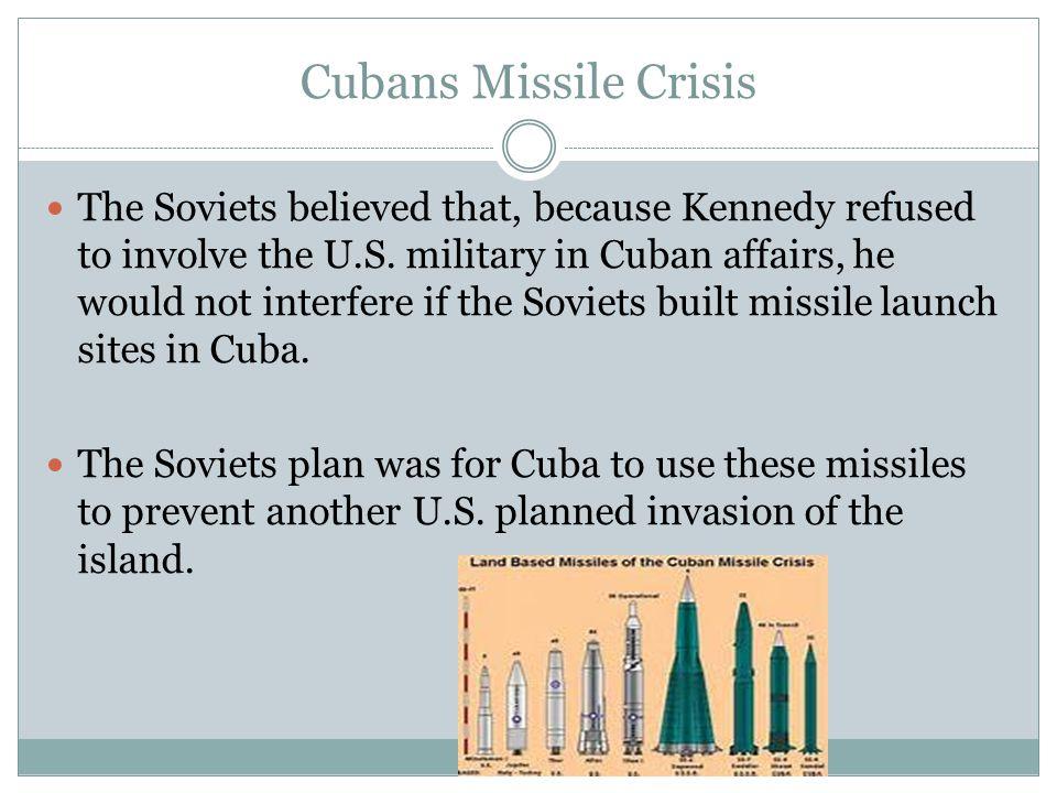 Cubans Missile Crisis