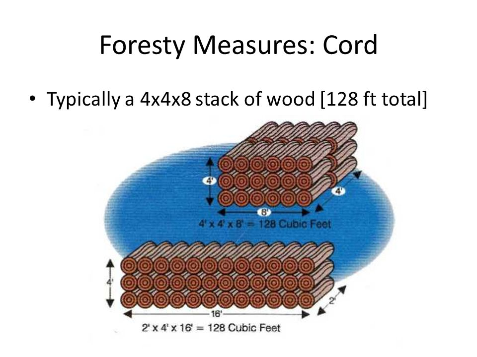 Foresty Measures: Cord