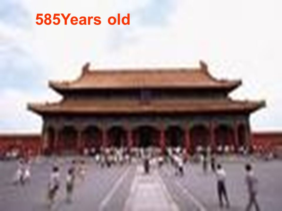 585Years old