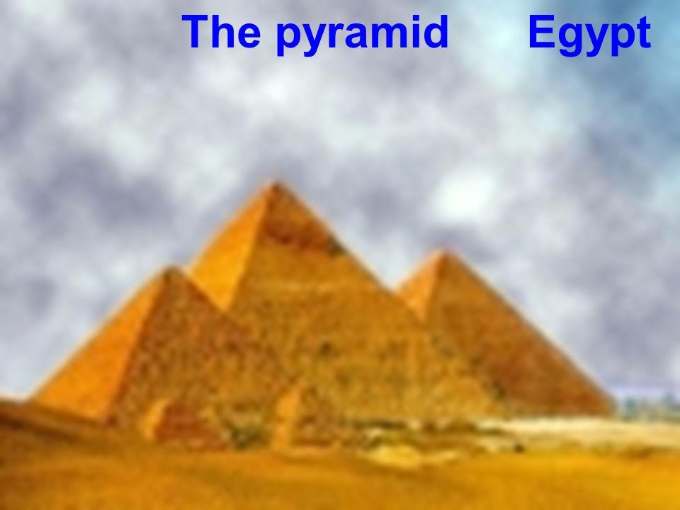 The pyramid Egypt