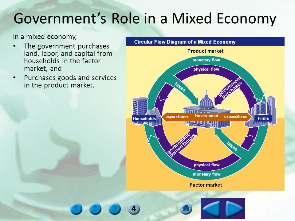 Government's Role in a Mixed Economy