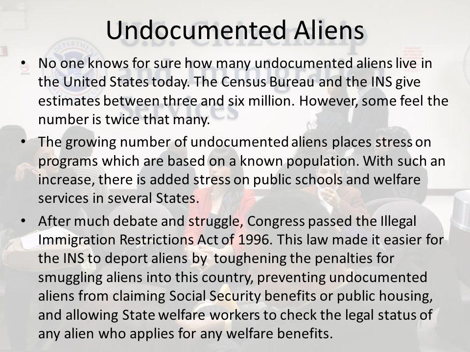 Undocumented Aliens
