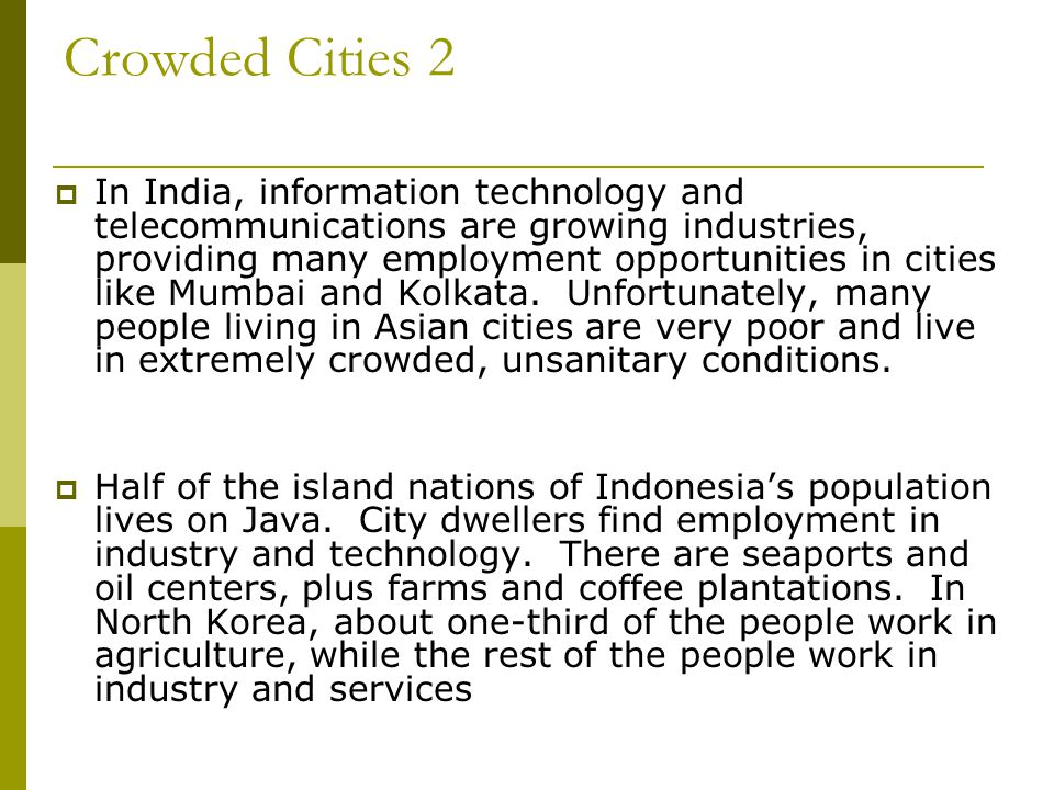 Crowded Cities 2