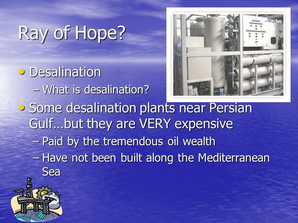Ray of Hope Desalination