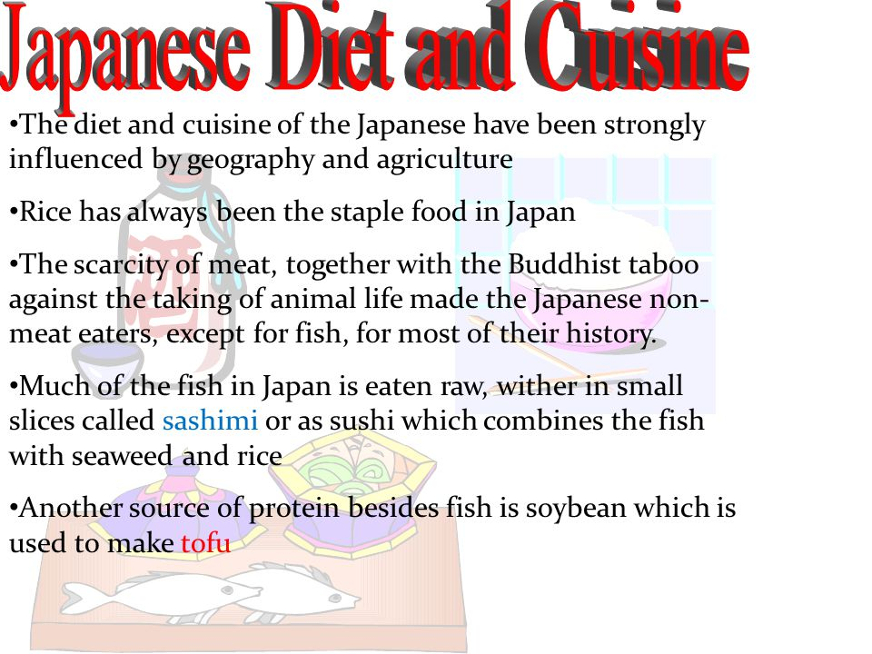 Japanese Diet and Cuisine