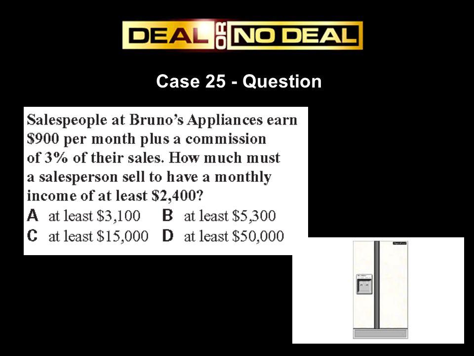 Case 25 - Question