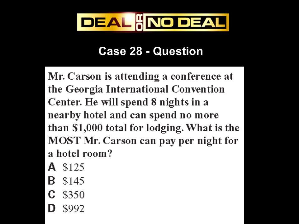 Case 28 - Question