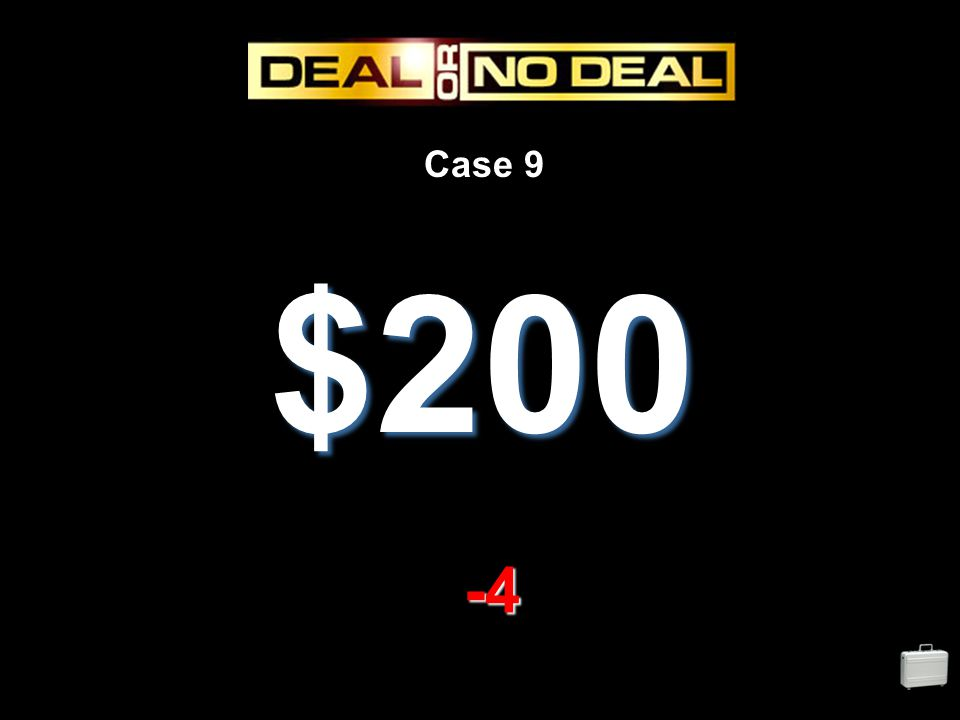 Case 9 $200 -4