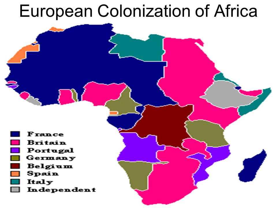 why is it that europe colonized africa The following are the reasons why the european colonized africa: land for settlement and farming this include the land to stay as the population in european countries begin to increase rapidly, some they wanted land to grow crops and some wanted to begin new farming on a fresh land.
