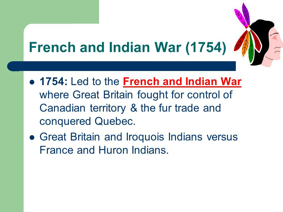 French and Indian War (1754)