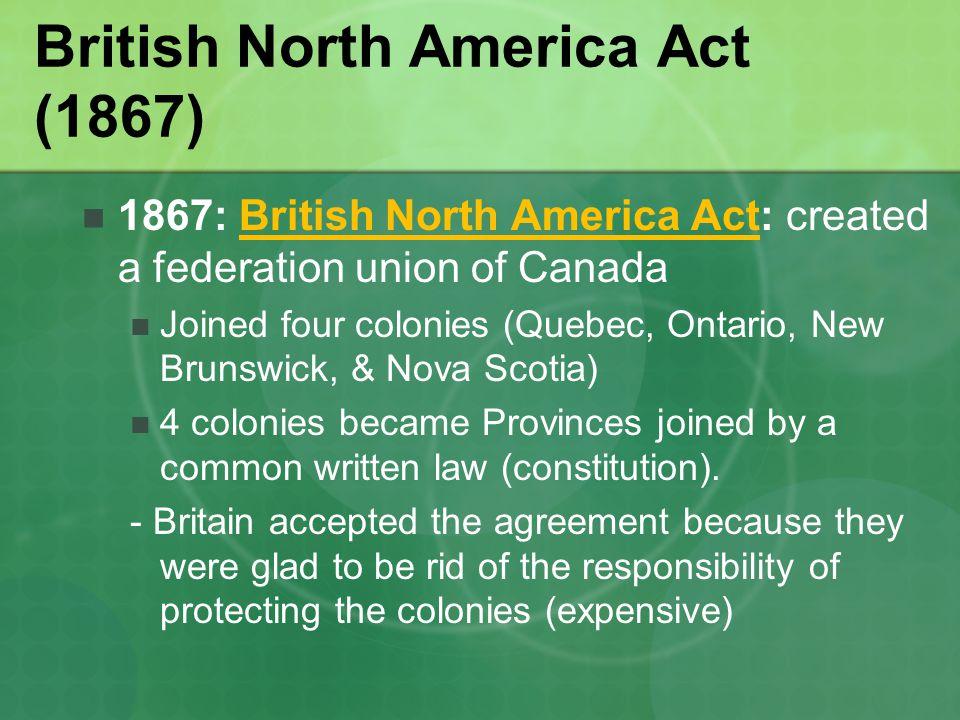 British North America Act (1867)