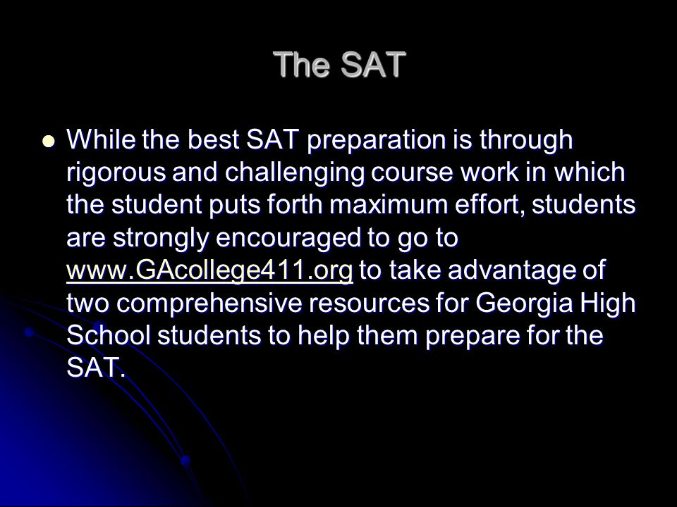 The SAT
