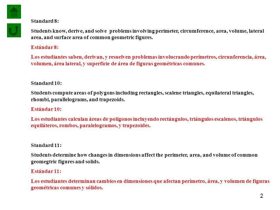 Standard 8:
