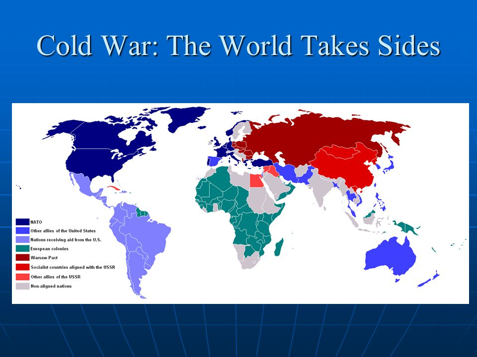 Cold War: The World Takes Sides
