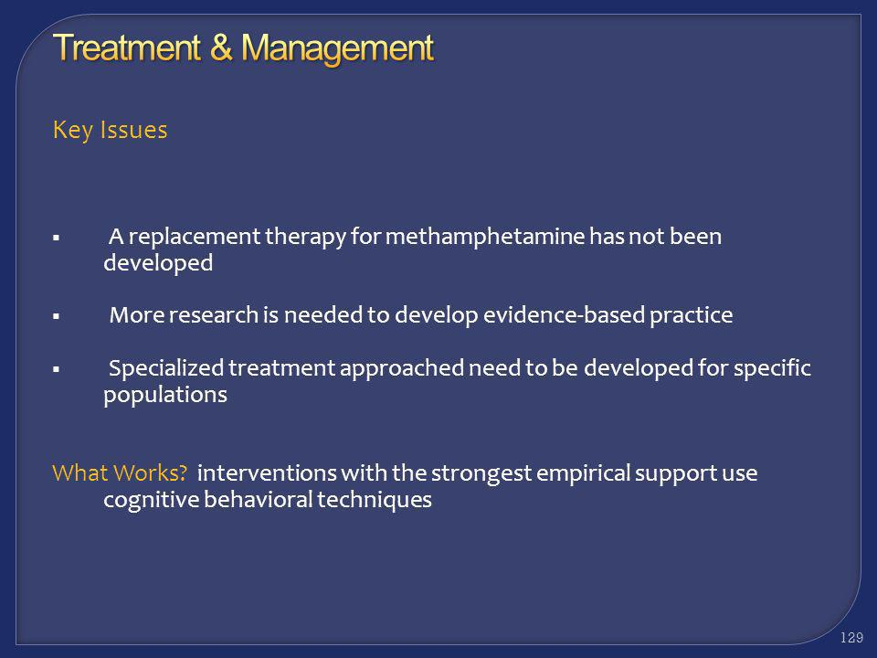 Treatment & Management