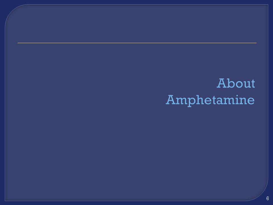 About Amphetamine
