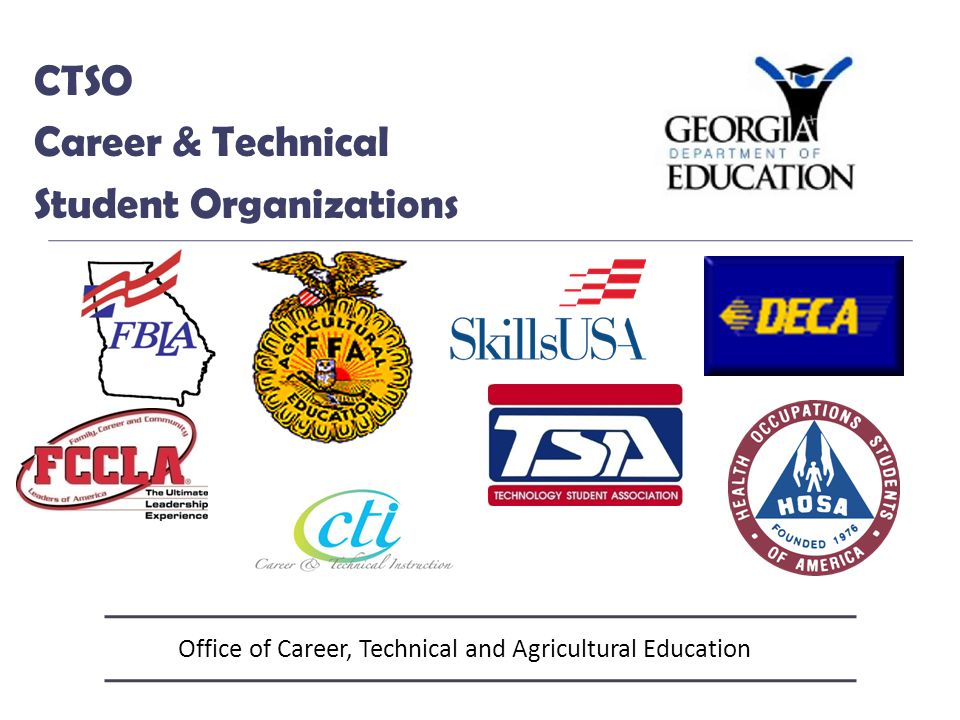 Office of Career, Technical and Agricultural Education