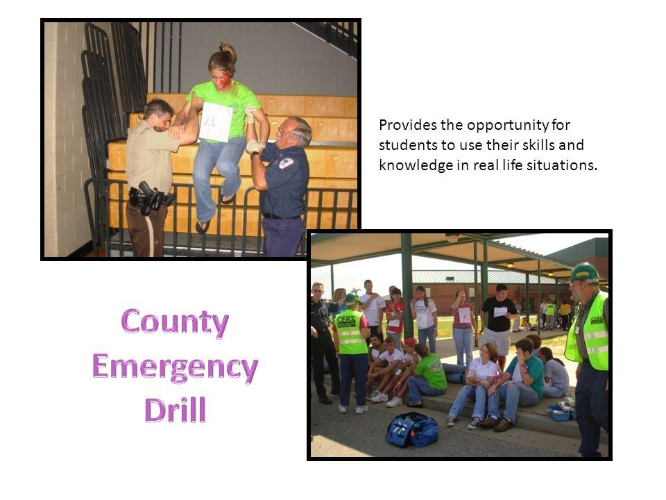 r County Emergency Drill