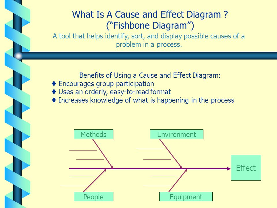 What Is A Cause and Effect Diagram ( Fishbone Diagram )