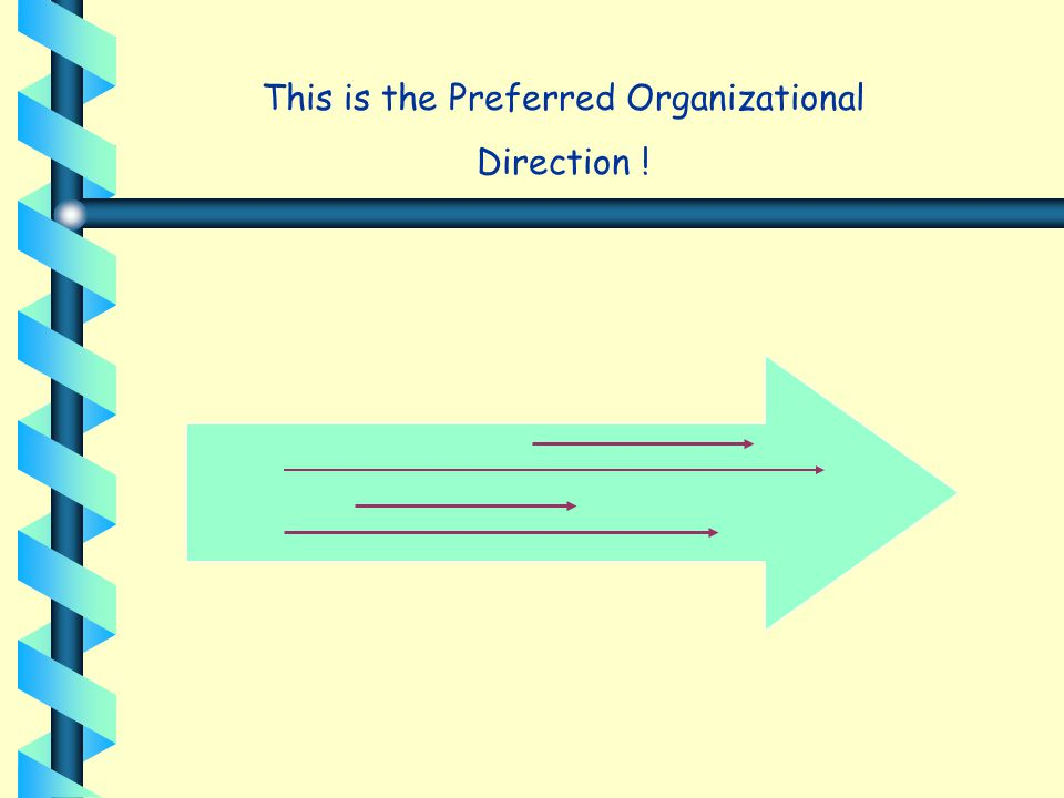 This is the Preferred Organizational