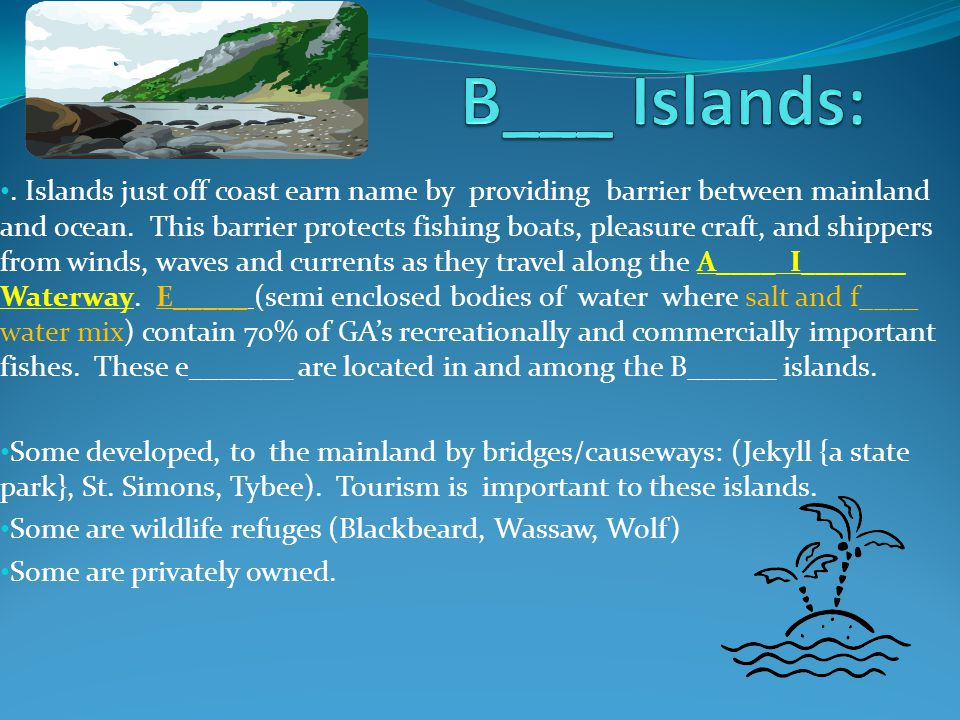B___ Islands: