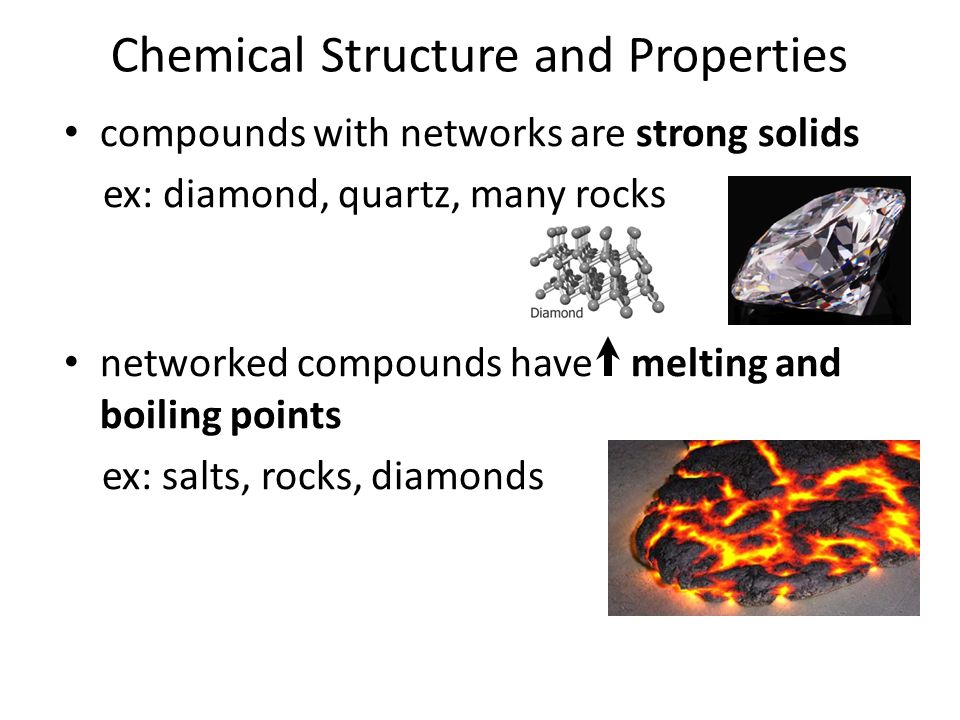 Chemical Structure and Properties