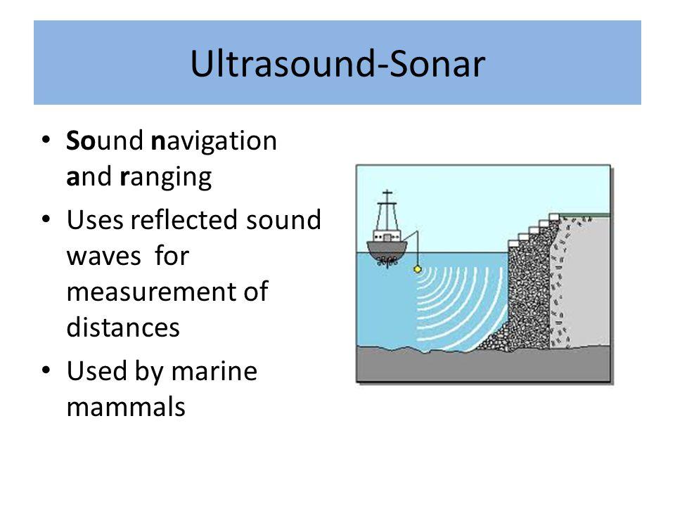 Ultrasound-Sonar Sound navigation and ranging