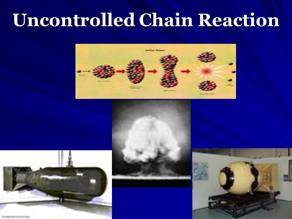 Uncontrolled Chain Reaction