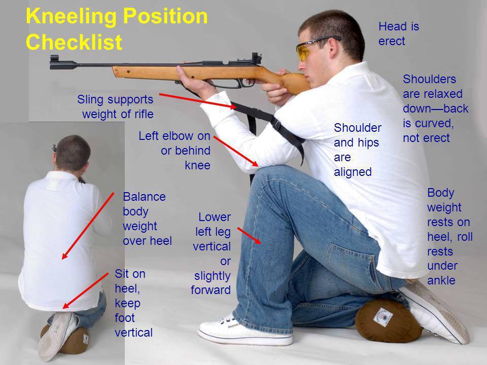 Kneeling Position Checklist