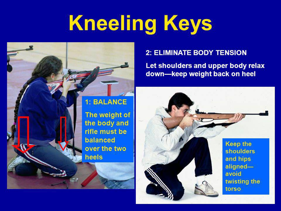 Kneeling Keys 2: ELIMINATE BODY TENSION