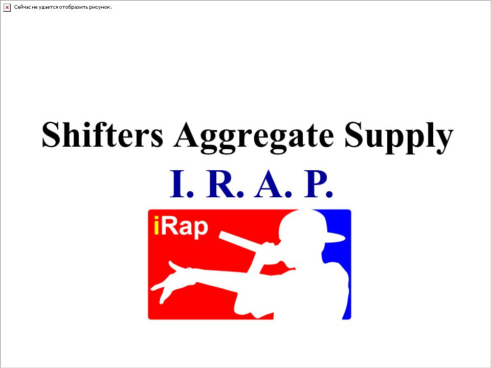 Shifters Aggregate Supply