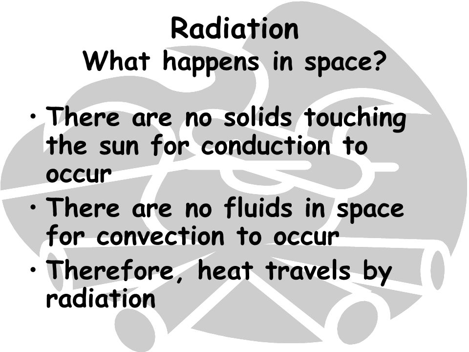 Radiation What happens in space