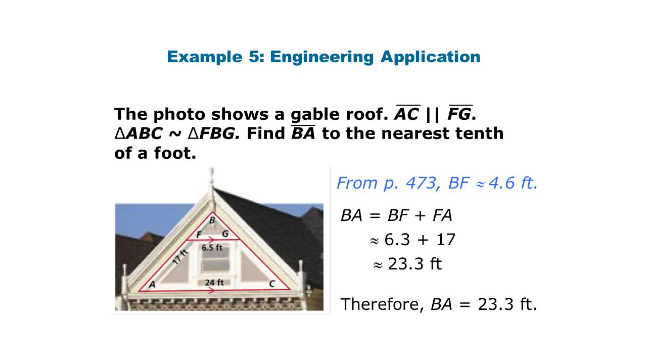 Example 5: Engineering Application