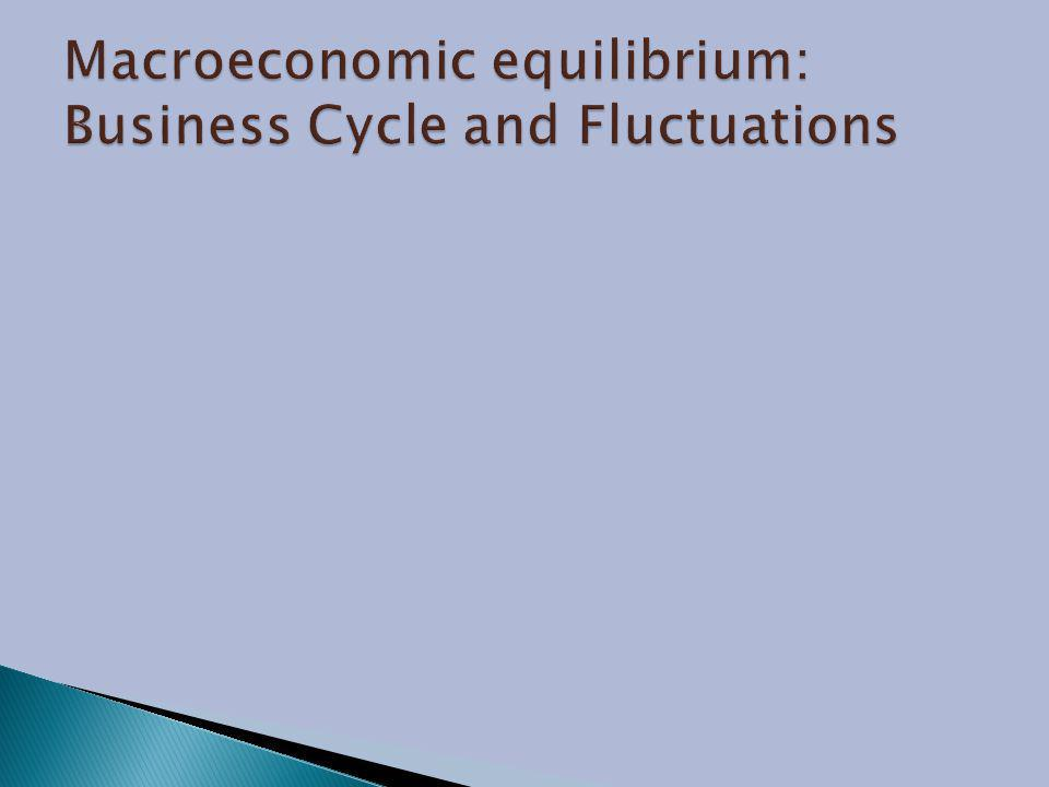 Macroeconomic equilibrium: Business Cycle and Fluctuations