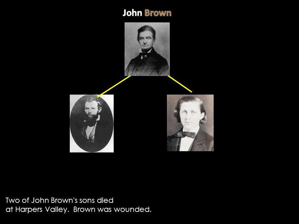 John Brown Two of John Brown s sons died
