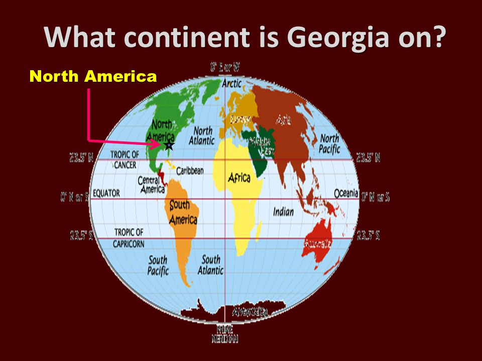 What continent is Georgia on